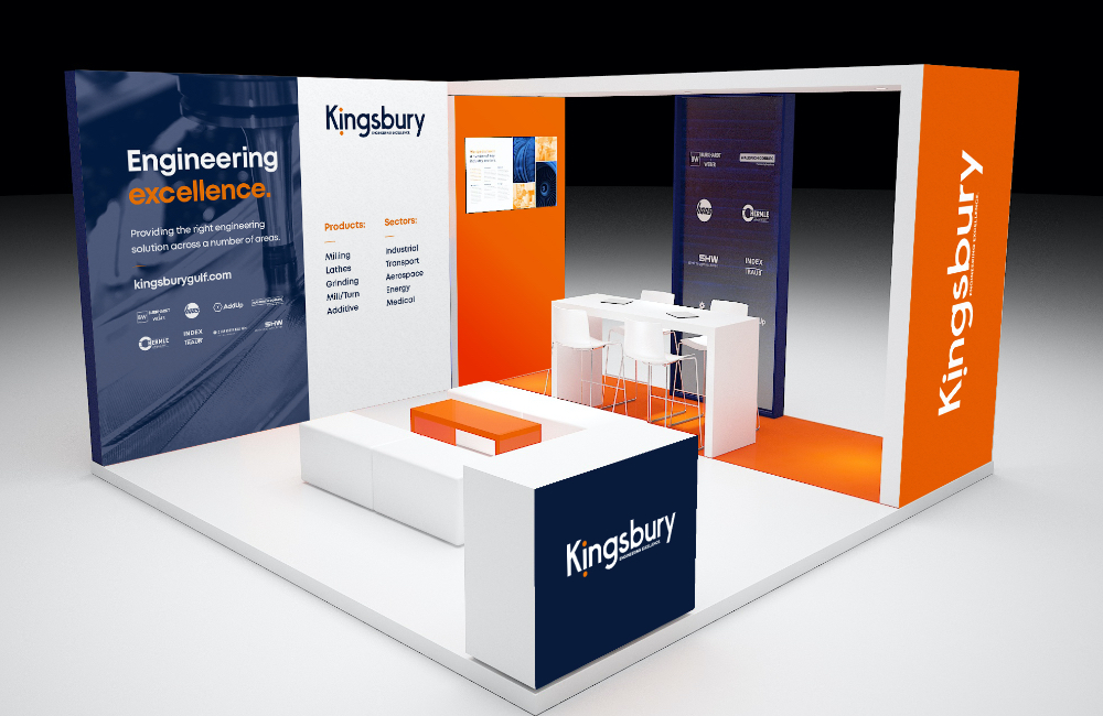 Kingsbury event stand