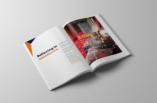 Brochure and print design example